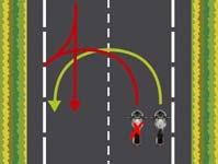 Saber girar moto